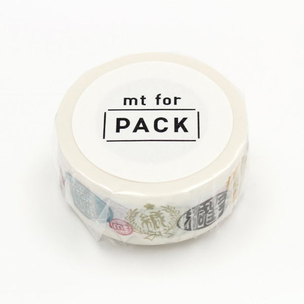 MT For Pack Permanent Tape Seal Label