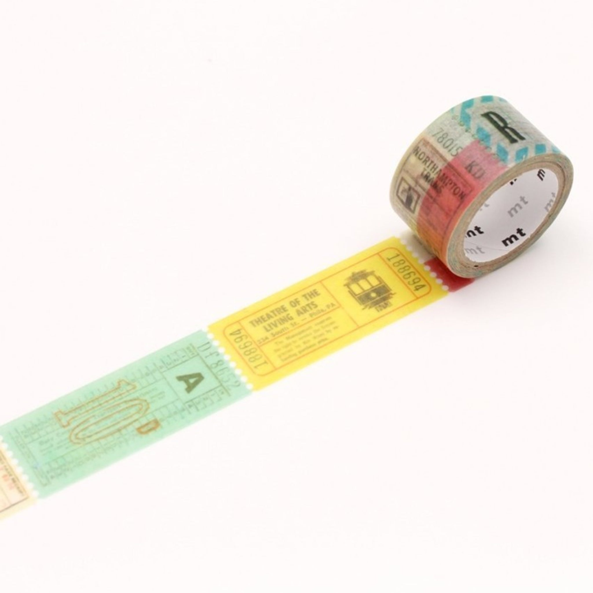 MT Fab Washi Tape Ticket