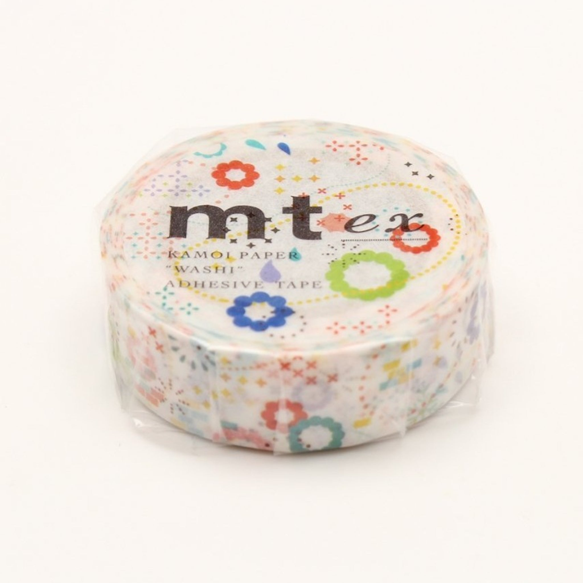 MT EX Washi Tape Colorful Pop