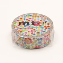 Load image into Gallery viewer, MT Mini Flower Garden washi tape (MTEX1P101)