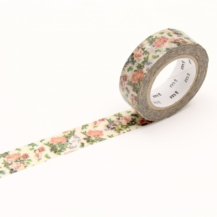 MT Mini Flower Botanical Art washi tape (MTEX1P103)