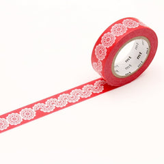 MT EX Washi Tape Lace / Circle