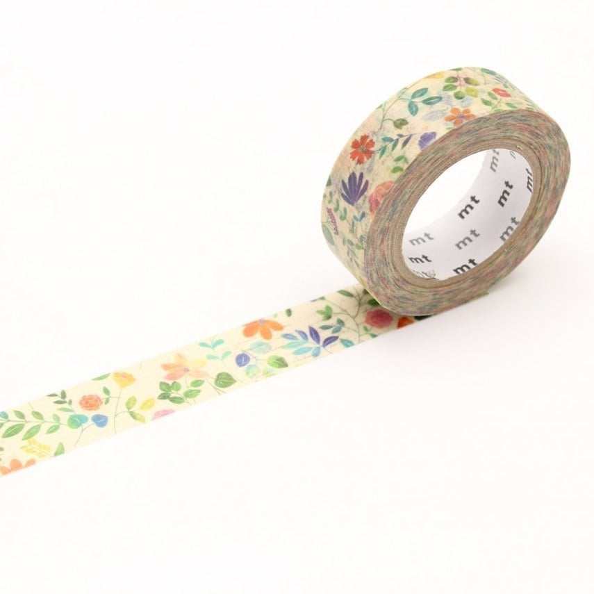 MT Watercolor Flower washi tape (MTEX1P109)