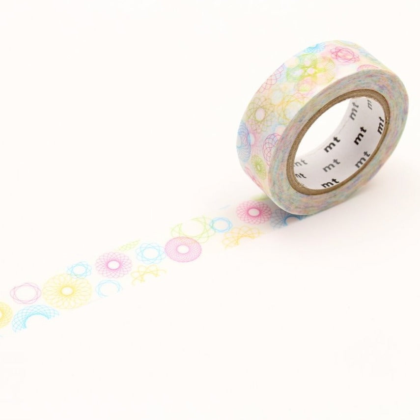 MT Spirograph washi tape (MTEX1P110)