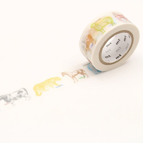 MT Animals washi tape (MTEX1P111)