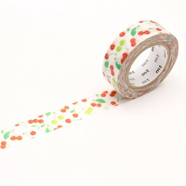 MT EX Washi Tape Cherries