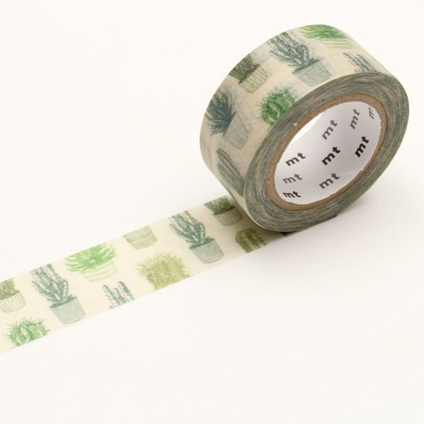MT Cactus washi tape (MTEX1P136)