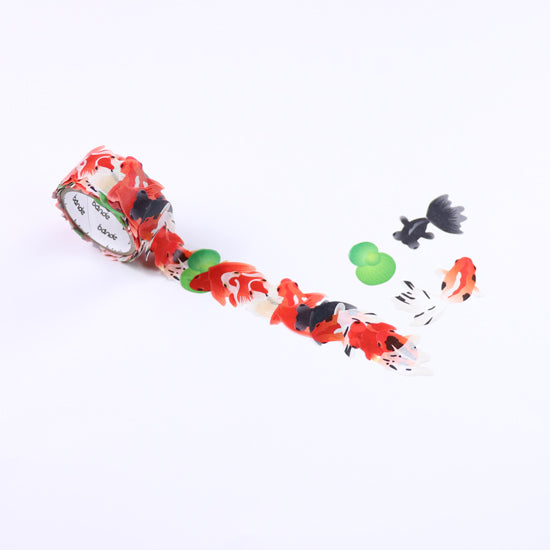 Bande Goldfish Washi Roll Sticker - Cityluxe