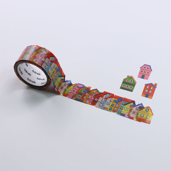 Bande House Washi Roll Sticker - MOMOQO