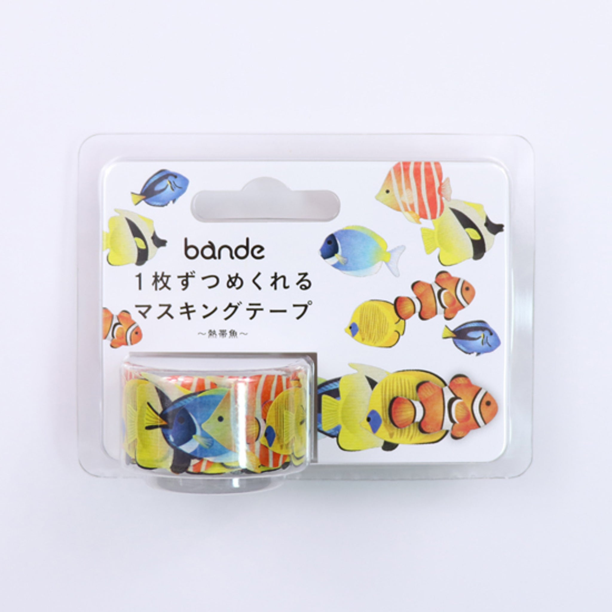 Bande Tropical Fish Roll Sticker