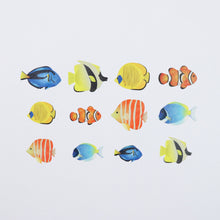 Load image into Gallery viewer, Bande Tropical Fish Roll Sticker - Cityluxe