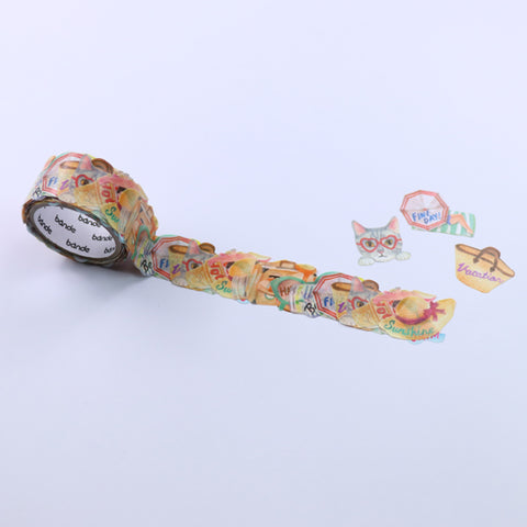 Bande Summer Vacation Washi Roll Sticker - Cityluxe