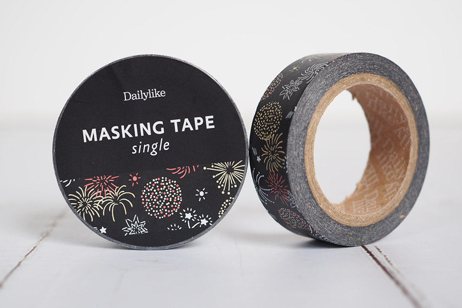 Dailylike 135 Firework 15mm Masking Tape