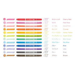 Tombow Playcolor Dot Set of 12 GCE-011