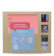 Load image into Gallery viewer, Filofax Clipbook A5 Creative Kit Rose