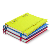 Load image into Gallery viewer, Filofax Clipbook Saffiano Fluoro A5 Elastic Closure
