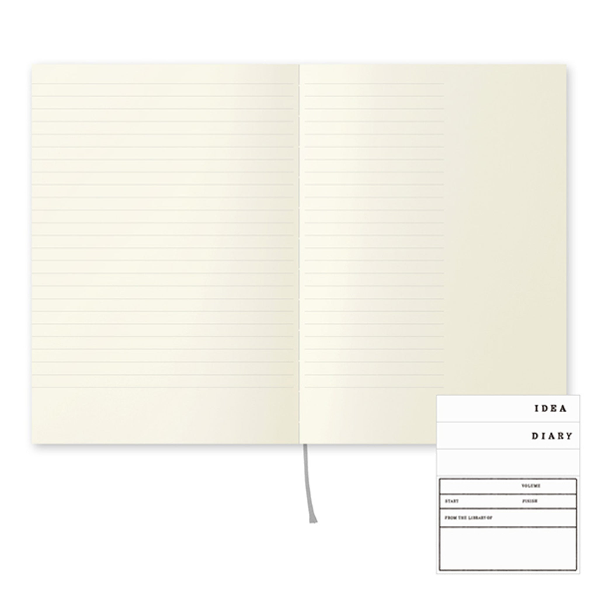 MD Notebook [A5] 10th Anniversary Lined with Margin