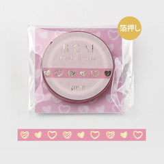 BGM Rose Heart Washi Tape