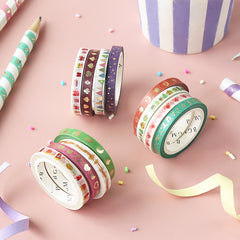 BGM Cherry Heart Washi Tape