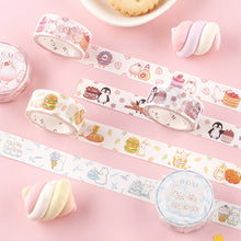 Load image into Gallery viewer, BGM Buncho Dessert Washi Tape