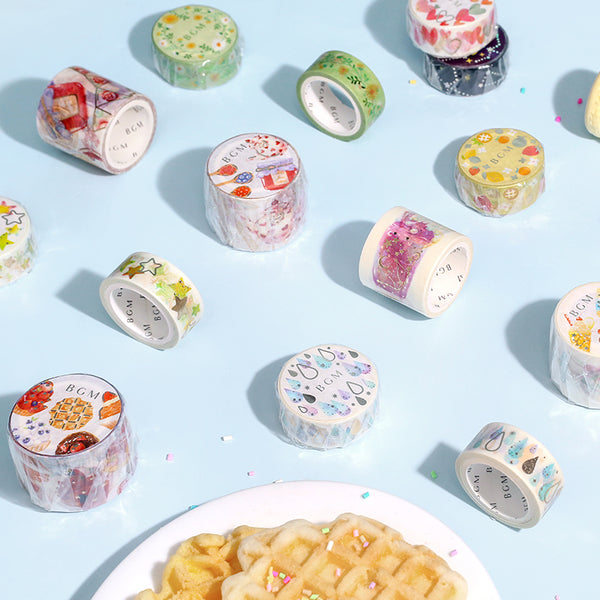 BGM Colorful Jewelry Washi Tape