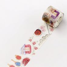 Load image into Gallery viewer, BGM Jam Tea Washi Tape