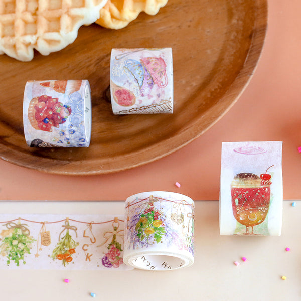 BGM Dried Flower Washi Tape