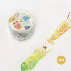 BGM Cream Soda Washi Tape