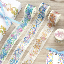 Load image into Gallery viewer, BGM Lace Hydrangea Washi Tape