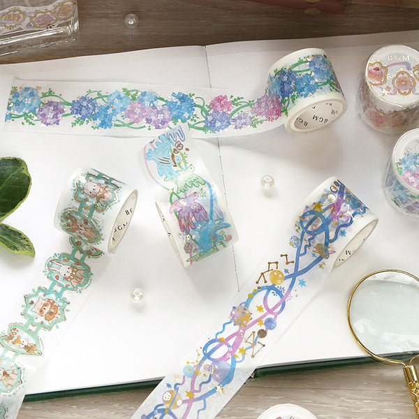 BGM Lace Bird Washi Tape