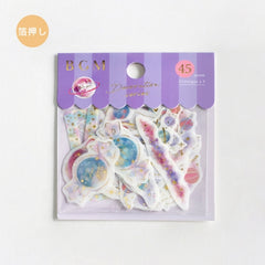 BGM Flakes Seal Decoration Planet