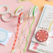 Load image into Gallery viewer, BGM Pink Lace Washi Tape