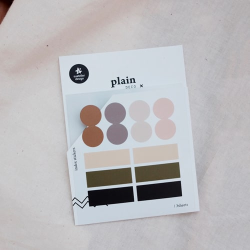 Suatelier Plain 43 Sticker