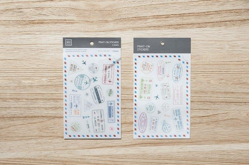Mu Craft Print-On Sticker Stamps
