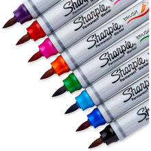 Load image into Gallery viewer, Sharpie® Brush Tip Permanent Marker Set of 8