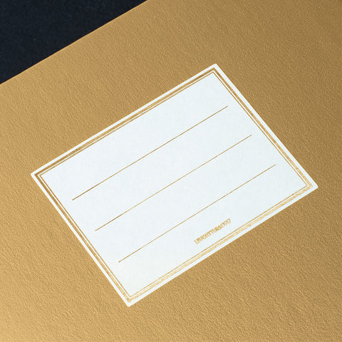 Leuchtturm1917 Metallic Edition A5 Medium Jottbook Gold - Ruled (Twin Pack)