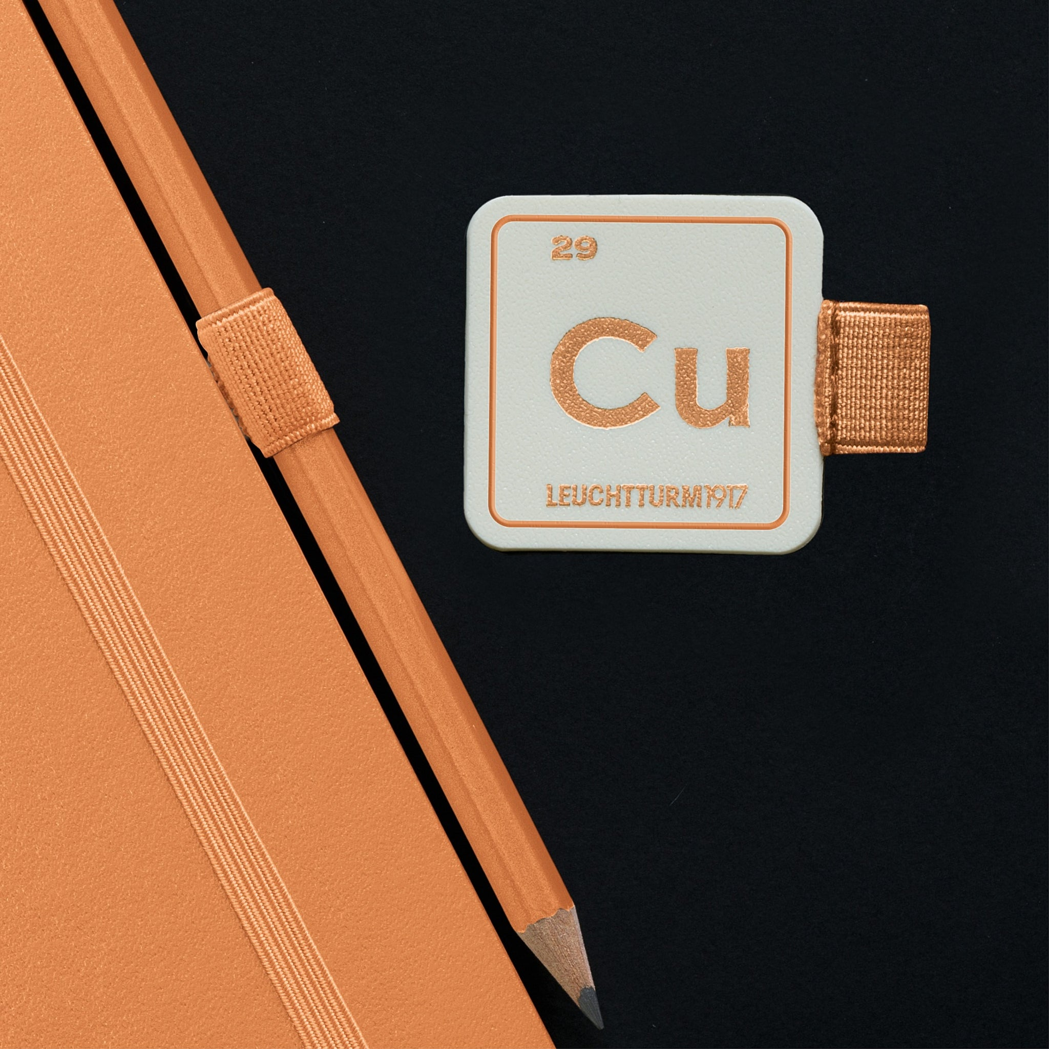 Leuchtturm1917 Metallic Edition Pen Loop Copper