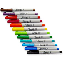 Load image into Gallery viewer, Sharpie® Ultra-Fine Marker Pack of 12 with Case