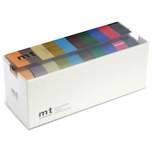 Load image into Gallery viewer, MT 10 Colours Washi Tape Set Dark