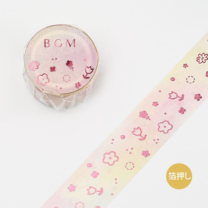 BGM Cherry Blossom Washi Tape