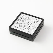 Load image into Gallery viewer, Midori Paintable Stamp Pre-inked Star