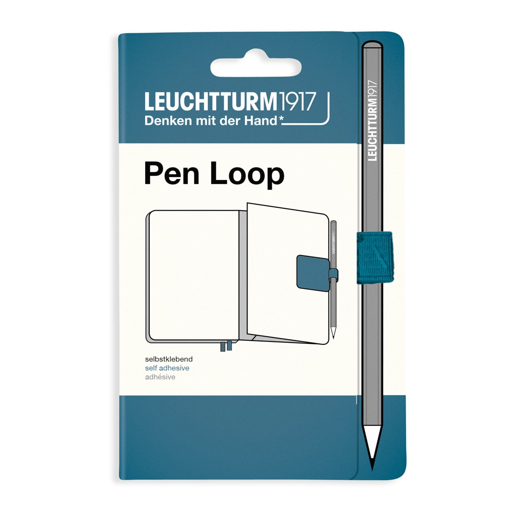 Leuchtturm1917 Pen Loop Stone Blue