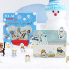 Load image into Gallery viewer, BGM Flakes Seal Winter Animals