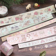 Load image into Gallery viewer, BGM Fairy Tale Flower Washi Tape