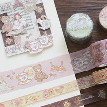 Load image into Gallery viewer, BGM Fairy Tale Key Washi Tape