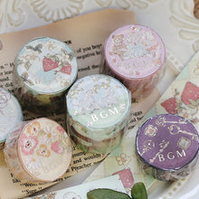 Load image into Gallery viewer, BGM Fairy Tale Strawberry Pattern Washi Tape