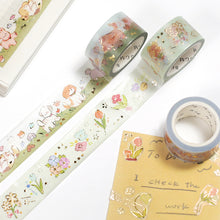Load image into Gallery viewer, BGM Paradise Puppies Washi Tape