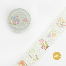 Load image into Gallery viewer, BGM Paradise Flower Washi Tape