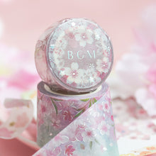 Load image into Gallery viewer, BGM Japanese Cherry Blossoms Washi Tape