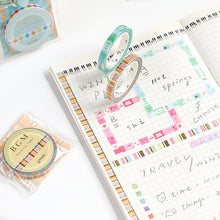 Load image into Gallery viewer, BGM Glitter Dessert Washi Tape